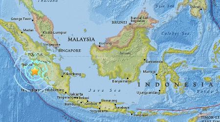 زلزله شدید در سوماترای اندونزی