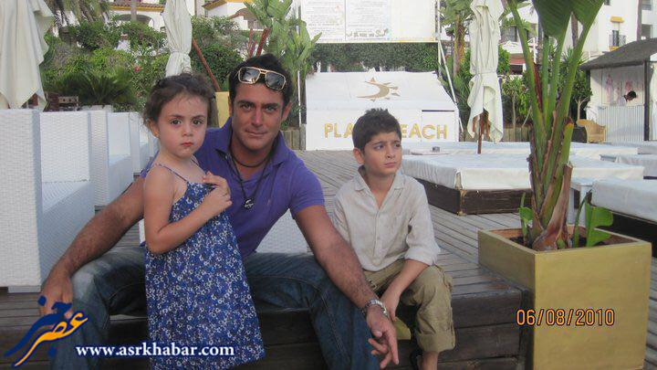عکس/ خواهرزادههاي محمدرضا گلزار