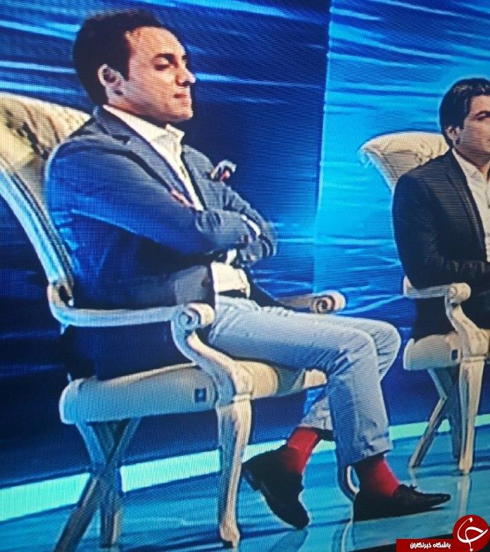 جوراب قرمز آقای بازیگر در ماه عسل سوژه کاربران شد +عکس