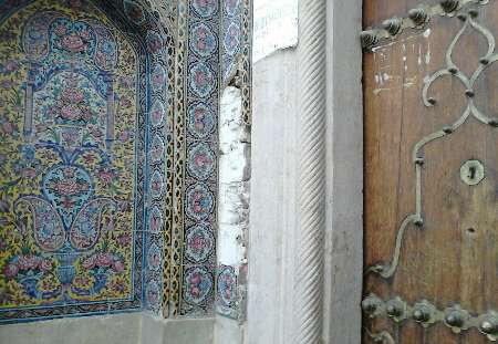 وقوع سرقت جدید در مسجد نصیرالملک!؟ +تصاویر