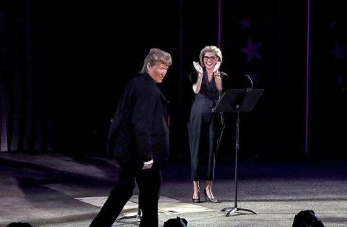 دونالد ترامپ سوژه ستاره مشهور هالیوود شد +تصاویر