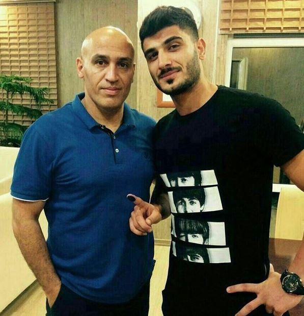 منصوریان بازیکن نفت را استقلالی کرد+ عکس