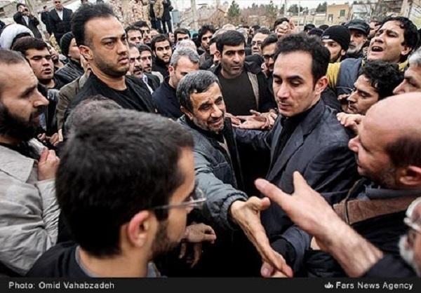 حضور احمدینژاد در تشییع «حبیب» صحت دارد؟ +تصاویر