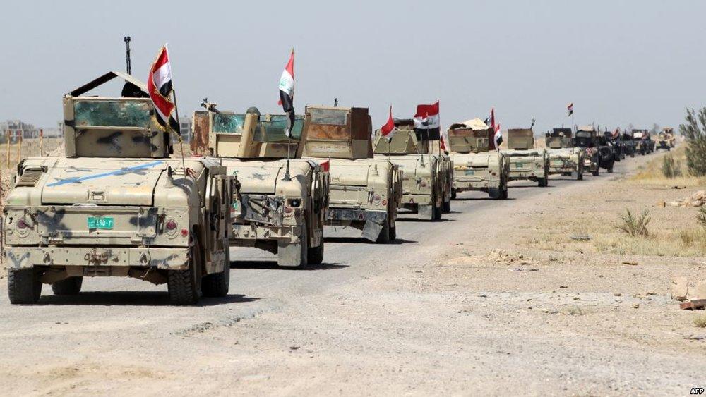 پیشروی نیروهای عراقی/فلوجه در آستانه آزادی