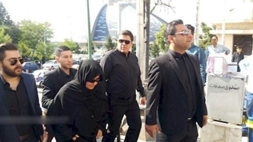 برگزاری مراسم هفتم «حبیب»/ حضور پسر حبیب +تصاویر