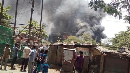 انفجار کارخانه مواد شیمیایی در هند/ 3 کشته و 100 زخمی+تصاویر