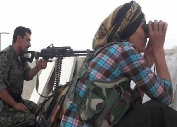 زن شجاعی که فرماندۀ جنگ با داعش است+ عکس