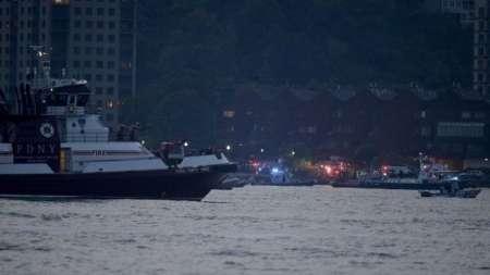 یک هواپیمای در نیویورک سقوط کرد