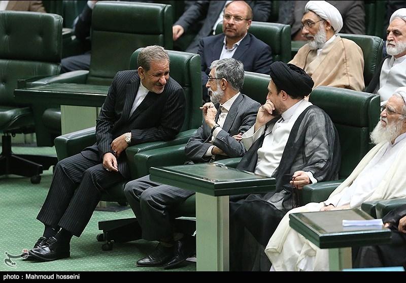 تصویر/ حداد عادل در مجلس دهم