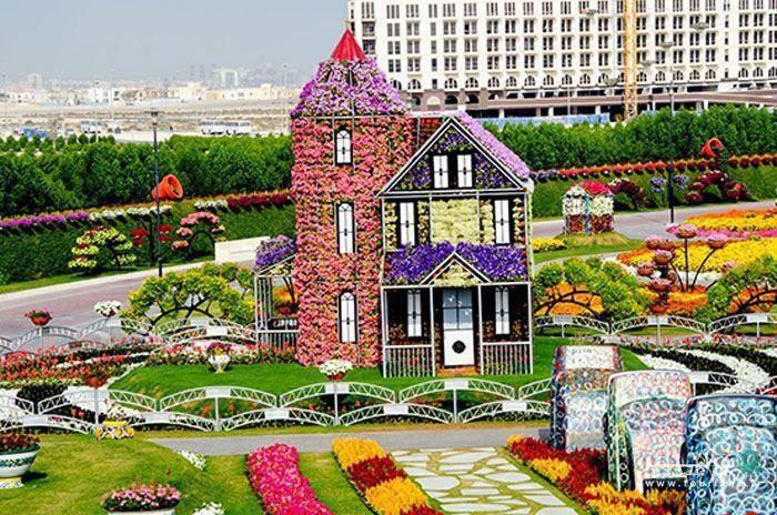 پارک معجزه دبی /عکس