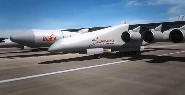 پهنپیکر ترین هواپیمای جهان را ببینید+تصاویر