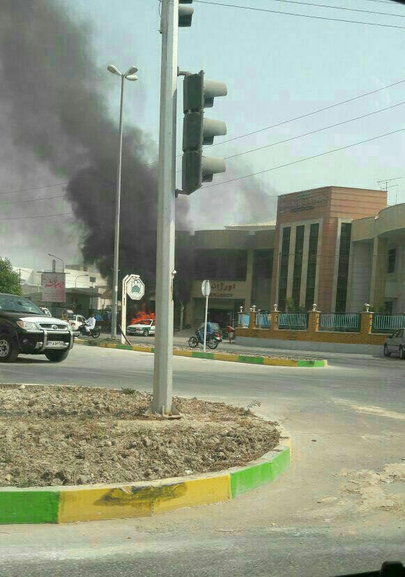 ماجرای درگیری پلیس و مردم در شهر نخلتقی بوشهر چهبود؟