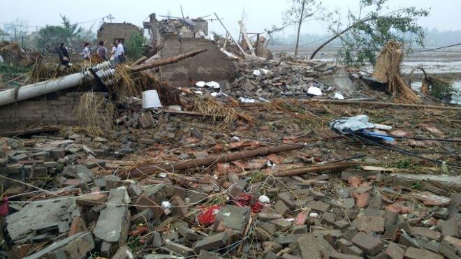 ۱۴۵ کشته و مجروح بر اثر طوفان در تایوان