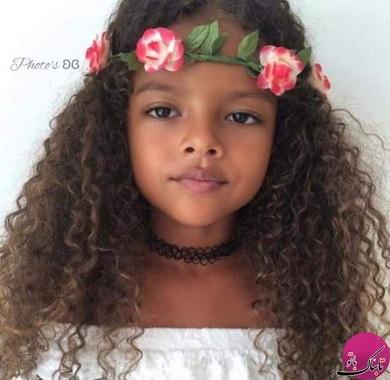 زیباترین کودک دنیا+تصاویر