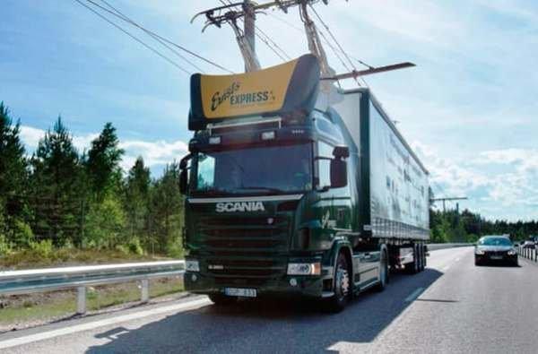 راهاندازی بزرگراه برقی در سوئد+تصویر