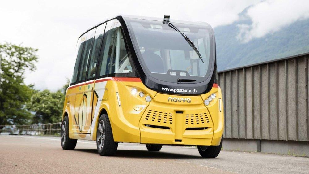 آغاز به کار اتوبوسهای بدونراننده در سوئیس+تصویر