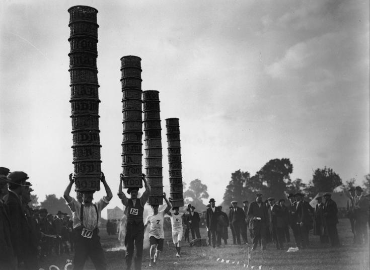 عکس/ عجیب ترین مسابقه قرن