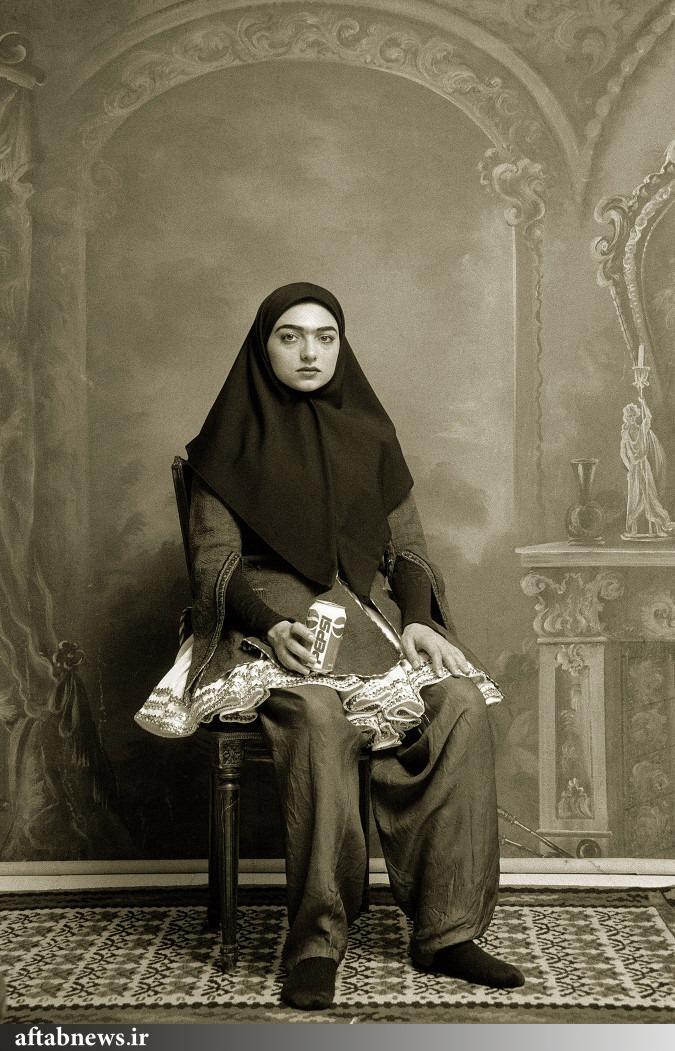 ژست دختران ایرانی در ۱۰۰ پیش/تصاویر