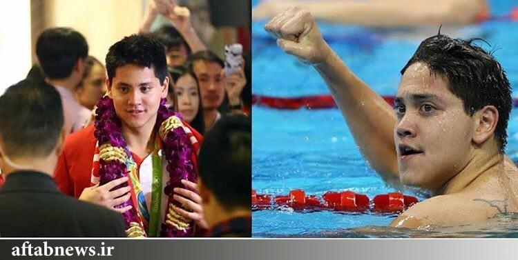 بیشترین پاداش المپیک به این شناگر رسید/عکس