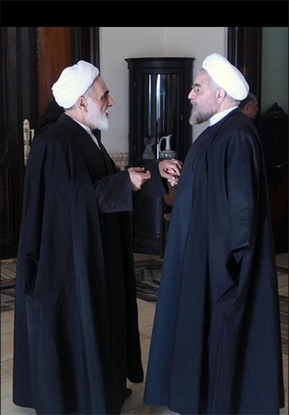 حمایت ناطق نوری از روحانی: گزینهای جز روحانی برای انتخابات 96 در نظر ندارم