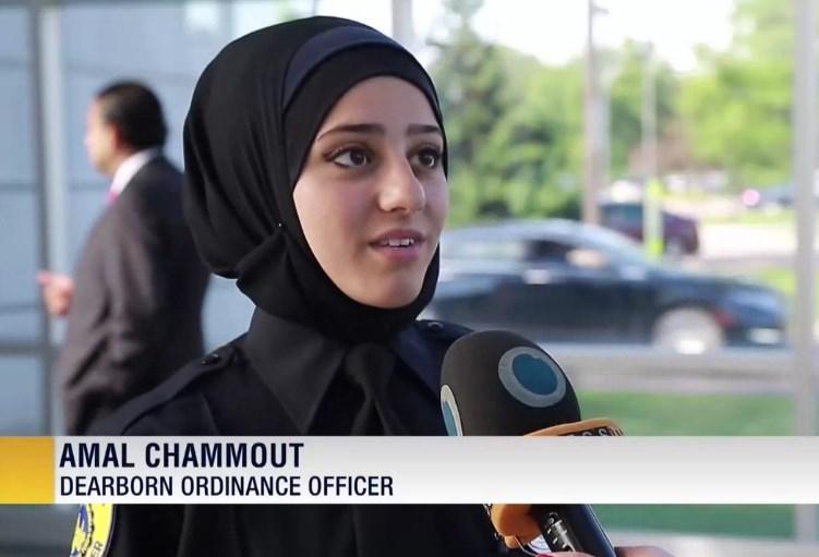 آغازبهکار نخستین پلیس زن محجبه در آمریکا+تصاویر