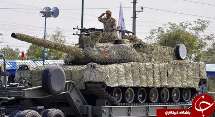 تانک غولپیکر و مرموز ارتش ایران+تصاویر