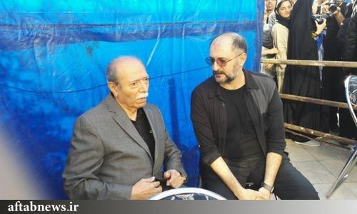 تصاویر/ مراسم تشییع پیکر داود رشیدی