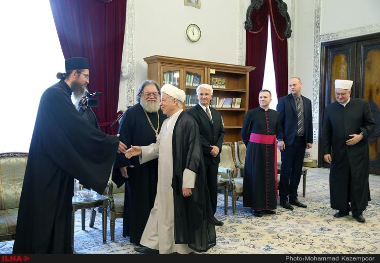 دیدار مفتی اعظم کشور کرواسی و هیأت همراه با آیتالله هاشمی رفسنجانی