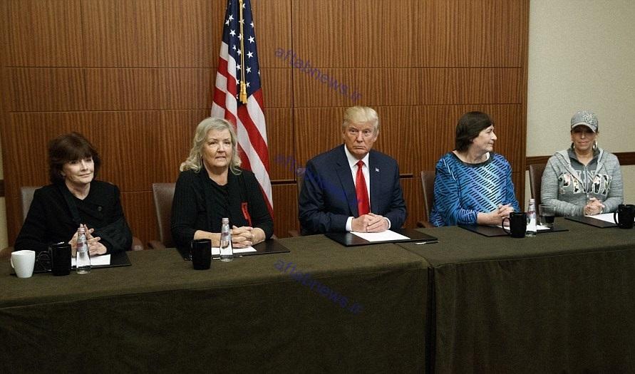 روایت 4 زن که مدعیاند بیل کلینتون به آنها تجاوز کرده است/عکس یادگاری ترامپ/ واکنش هیلاری+تصاویر