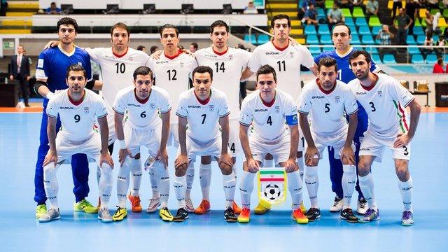 شکست ناباورانه فوتسال ایران مقابل روسیه+تصاویر