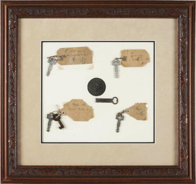 کلید آزمایشگاه ادیسون 60 هزار دلار فروخته شد+تصاویر