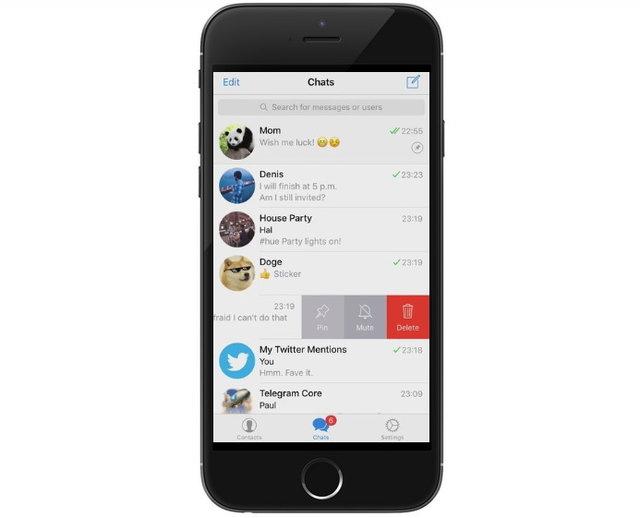 ارمغانهای آپدیت جدید تلگرام+تصاویر