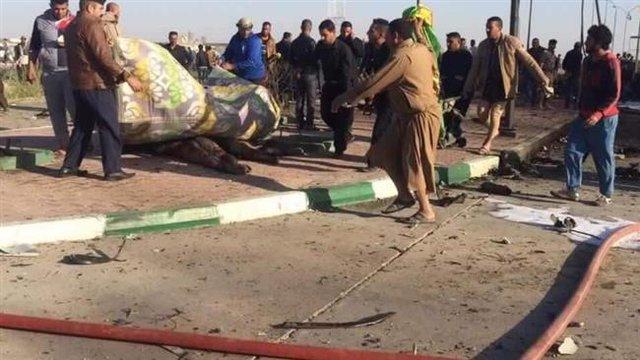 انفجار در عراق توسط داعش/ بیشتر شهدا ایرانی هستند+تصاویر