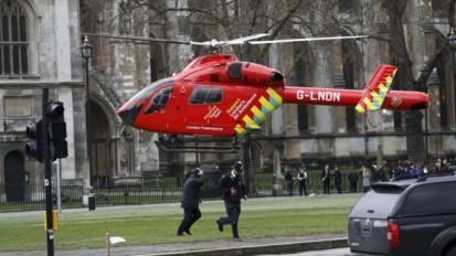 تیراندازی و انفجار نزدیک پارلمان بریتانیا؛ زخمیشدن بیش از ۱۰ نفر+فیلم و تصاویر