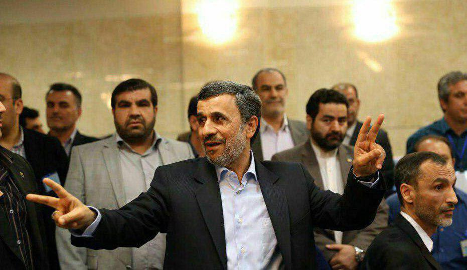 احمدینژاد در انتخابات ریاستجمهوری ثبتنام کرد/بقایی هم ثبتنام کرد+ فیلم و تصاویر