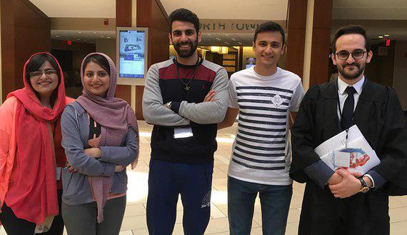 پذیرش شگفتانگیز دانشجویان ایران در رشته حقوق آمریکا+عکس