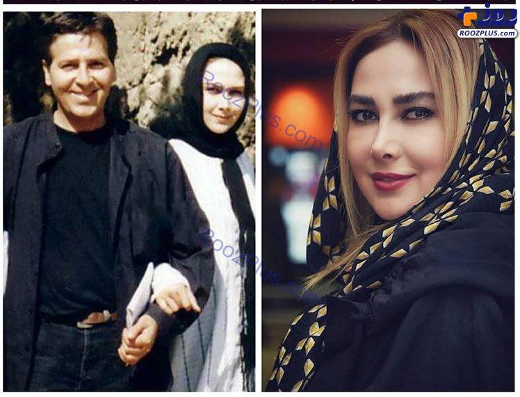بازیگر زن معروف وقتی که همسر ابولفضل پورعرب بود/عکس