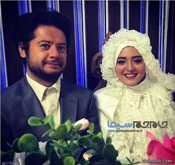 عروسی نرگس محمدی و علی صادقی! + عکس