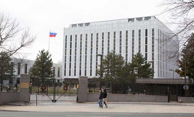 تغییر نام خیابان سفارت روسیه در واشنگتن به اسم