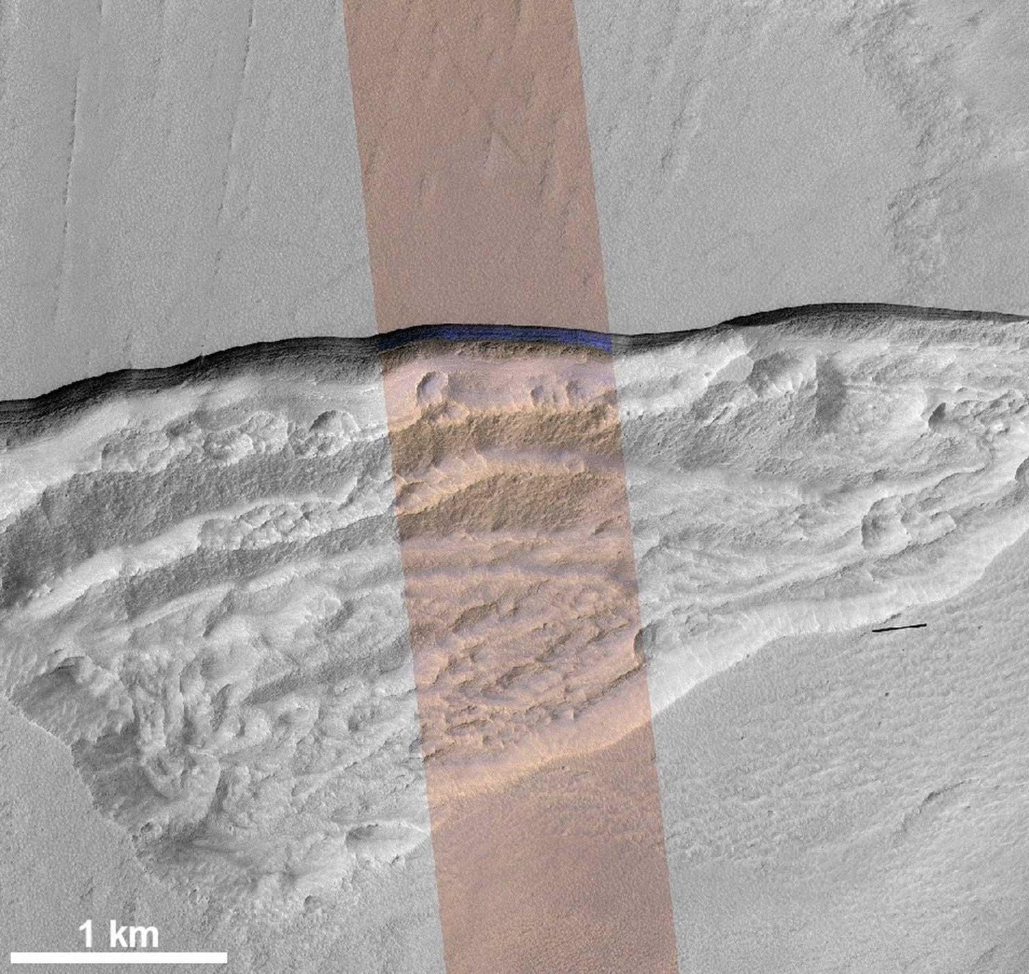 کشف هیجانانگیز ناسا: کافی است سطح مریخ را چند متر حفر کنید تا به آب برسید+تصاویر