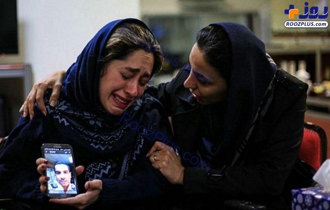 تصویری متاثر کننده از همسر یکی از خدمه نفت کش ایرانی