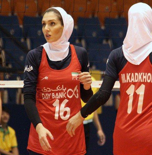 همسر کاوه رضایی در تیم والیبال شارلوای بلژیک + عکس