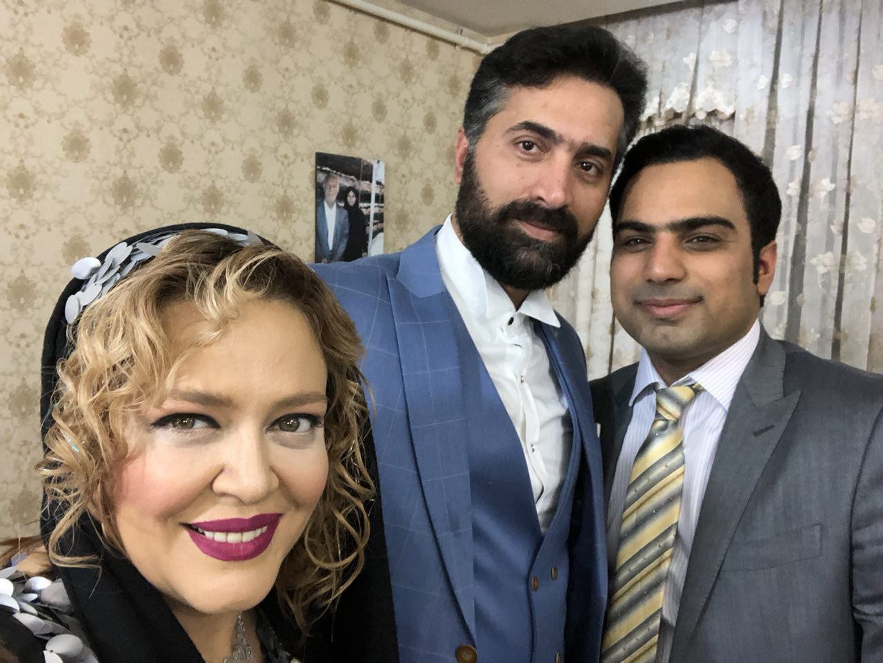 خانم بازیگر پرحاشیه در جشن عروسی + عکس