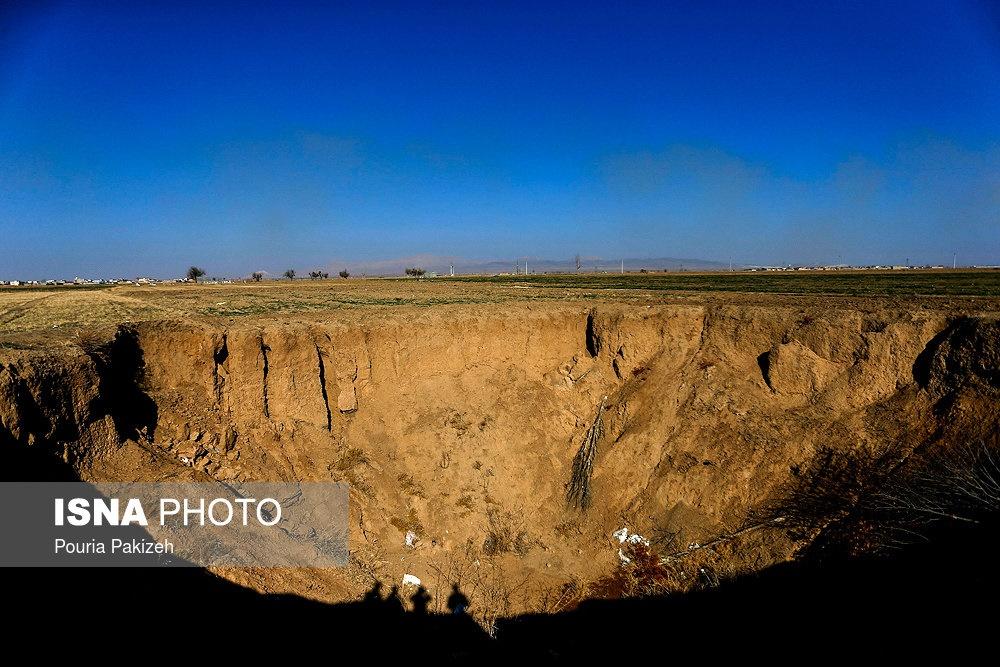 زنگ خطر برای ایران زمین؛ پدیدهای به نام «فروچاله» / عکس