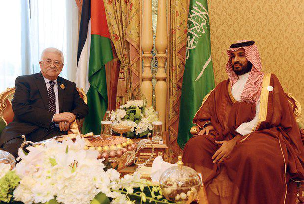 نتیجه تصویری برای میدل ایست انلاین: تهدید محمود عباس توسط ولیعهد سعودی
