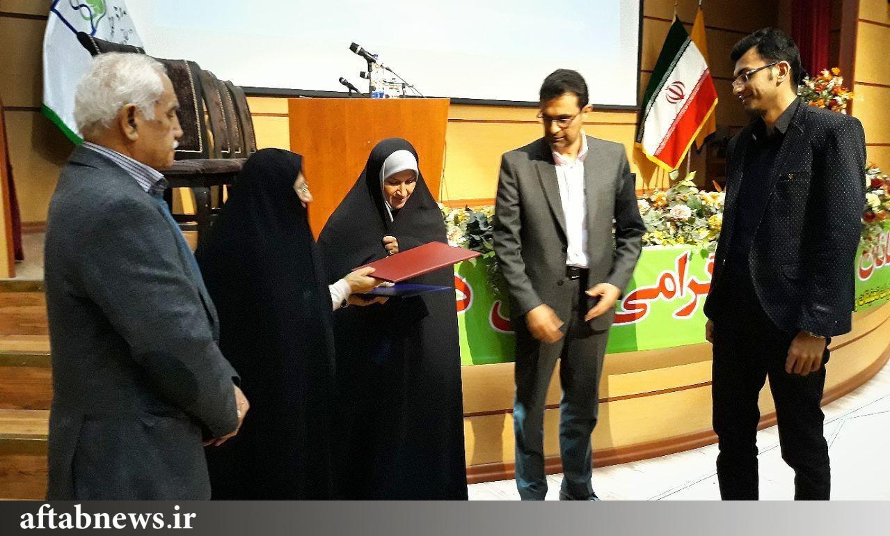 مراسم جایزه پژوهشی حمید رضاییقلعه+عکس