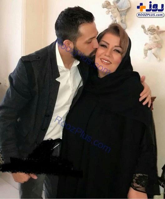 بوسه آقای بازیگر و سلطان حاشیه ایران خبرساز شد+عکس