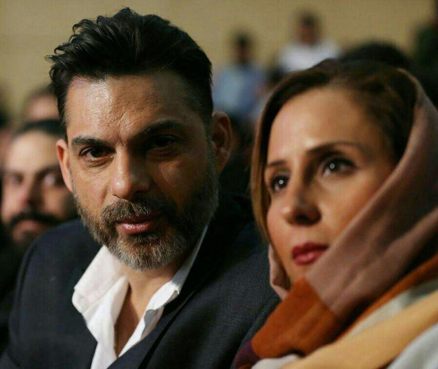تیپ پیمان معادی و همسرش دیشب در اختتامیه جشنواره فجر! + عکس