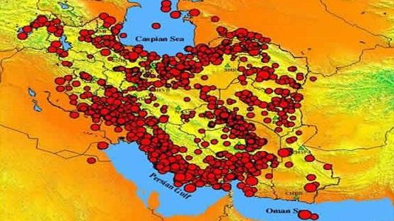 ثبت بیش از ۲۲۰۰ زمینلرزه در دیماه ۹۶/هشدار نسبت به فعال شدن گسل شهرها
