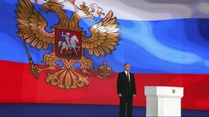 نمایش تسلیحات مدرن روسیه/پوتین: موشک های روسی می تواند هر نقطه از جهان را هدف بگیرد+فیلم